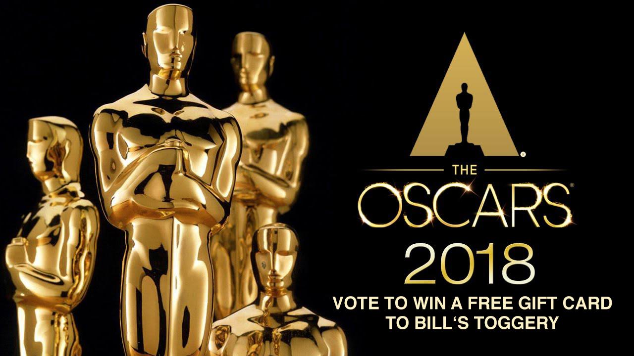 Oscar Contest - Bill's Toggery